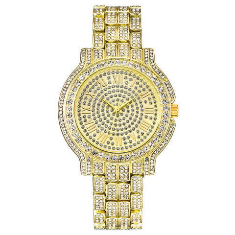 Luxury Rhinestone Women Dress Watch