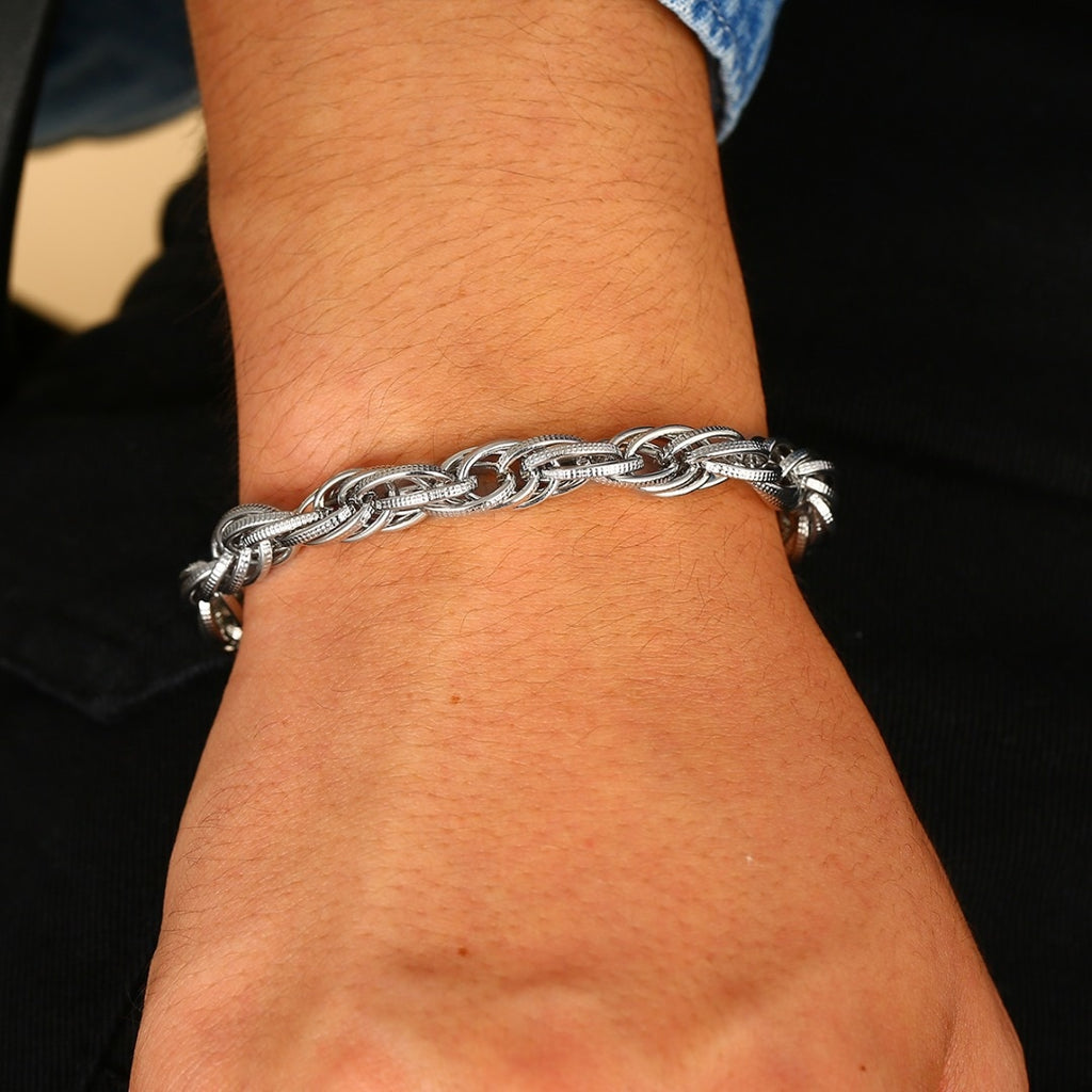 Shellard Punk Twisted Chain Bracelet (Free)