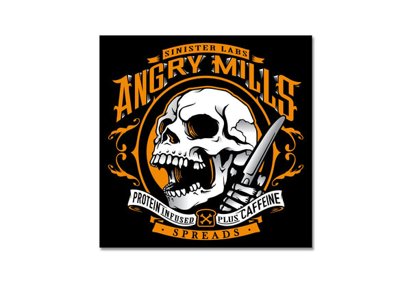 Angry Mills Sticker