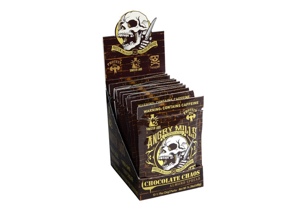 Chocolate Chaos Spread Packet- Caffeinated - 12 Pack