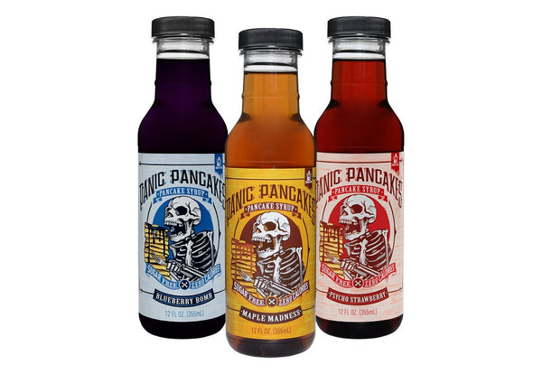 Panic Pancakes™ Syrup Variety Pack