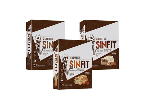 SINFIT® High Protein Double Crunch Bars Variety Pack