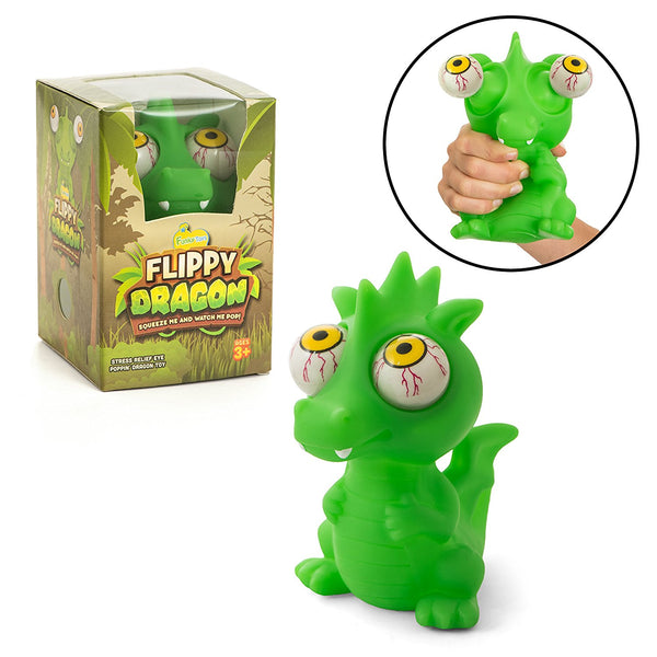 Poppin' Peepers Flippy Dragon - Funky Toys