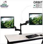 Ergonomic Dual Monitor Arm Stand – NeckDoctor ORBIT