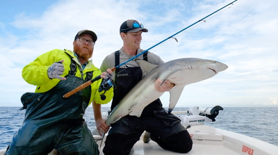 Shark Caught On Osprey 5000 (feat. Capt. Andy Bates)