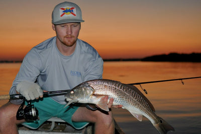 A Picture Perfect Evening - Florida Approved Redfishing