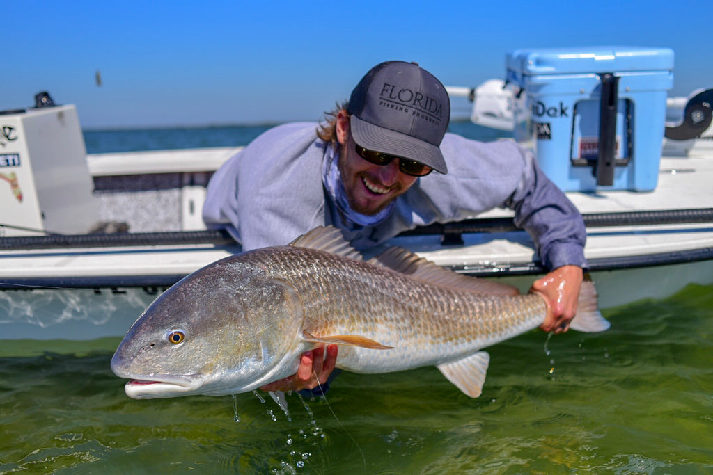 Mosquito Lagoon Redfish caught on Slayer Inc.