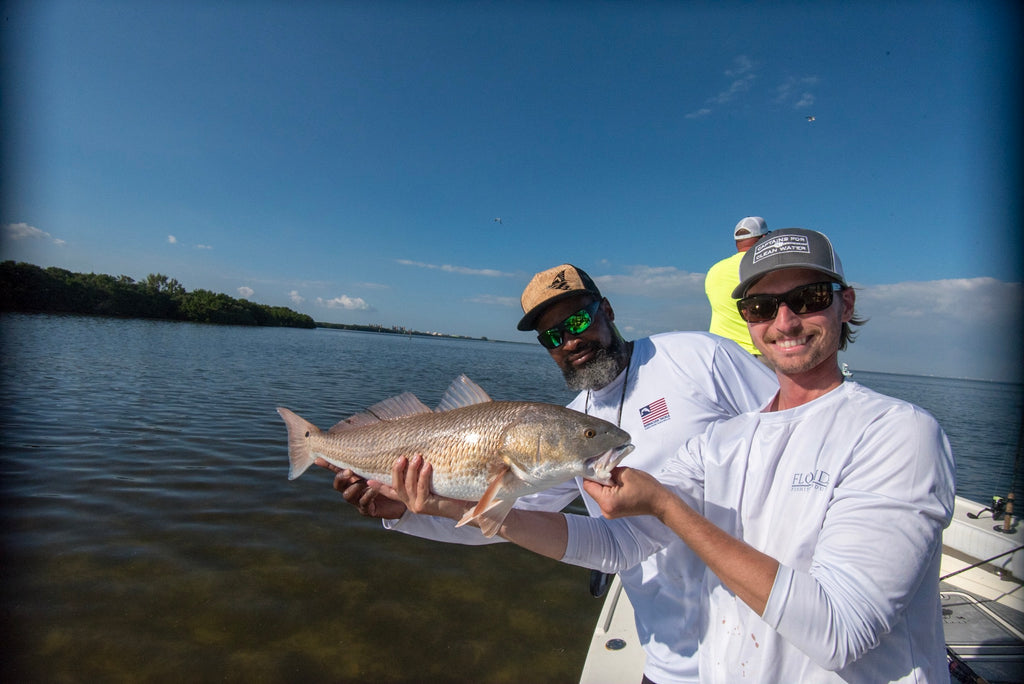 Tim Sommer and Captain Mike Goodwine of Blackneck Adventures