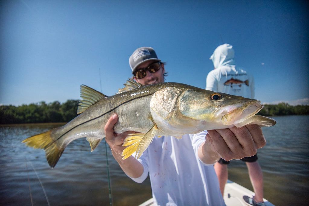 Tim with a Snook