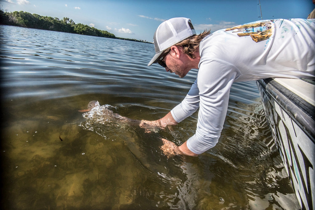 Fishing with Mike Goodwine of Blackneck Adventures in Tampa Bay