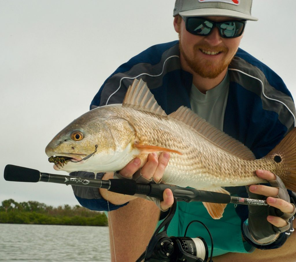 Ty with a redfish