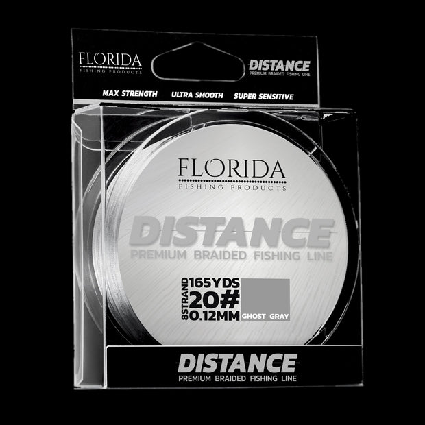 Distance Premium Braided Line | Ghost Gray