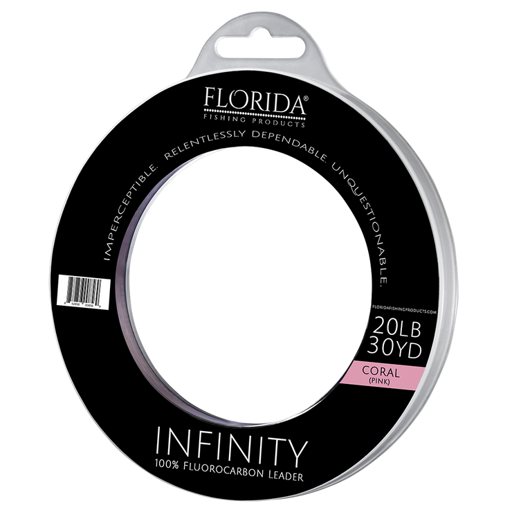INFINITY 100% Fluorocarbon Leader (Coral)