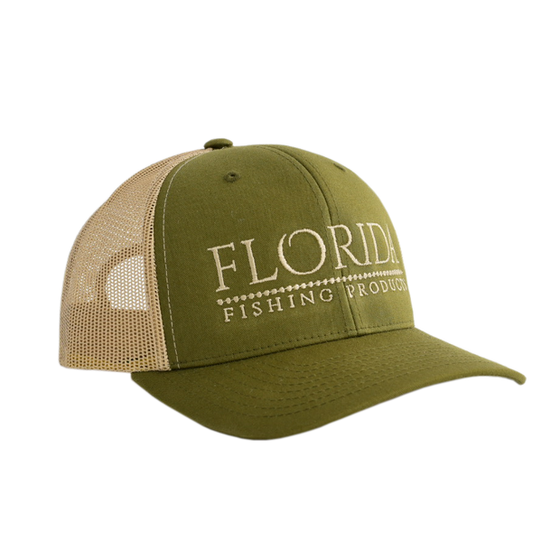FFP Logo Trucker - Olive/Tan [Limited Edition]