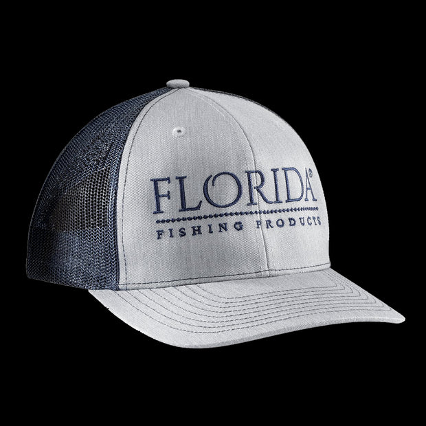 FFP Logo Trucker - Heather Gray / Navy