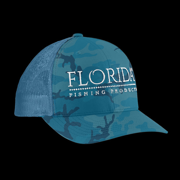 FFP Logo Trucker - Ocean Camo [Limited Edition]