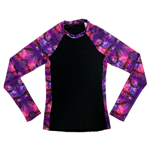 Galaxy Sharks Rashguard Shirt