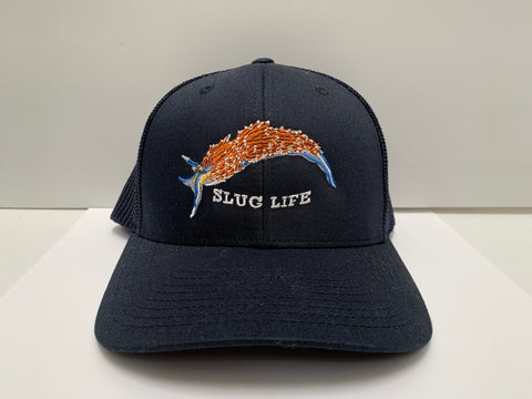 """Slug Life"" Hermissenda Nudibranch Trucker Hat"