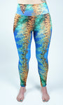 Sylvia Earle Sargassum Seaweed Inspired Leggings