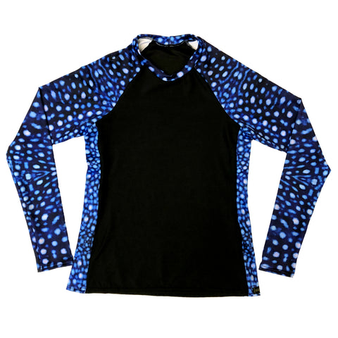 Whale Shark inspired Rashguard Shirt
