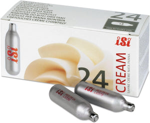 iSi N2O Whipped Cream Charger, 24 Count