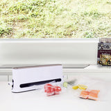 Upright Vacuum Sealer designed for Sous Vide Cooking, Space Saver Vacuum Sealer with vacuum bags included