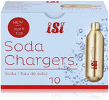 iSi 8.4g CO2 Pro Soda Chargers, 10 pack