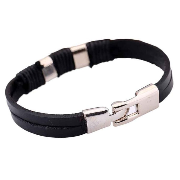 item bracelets braided with men genuine bracelet leather rope for women pieces unisex