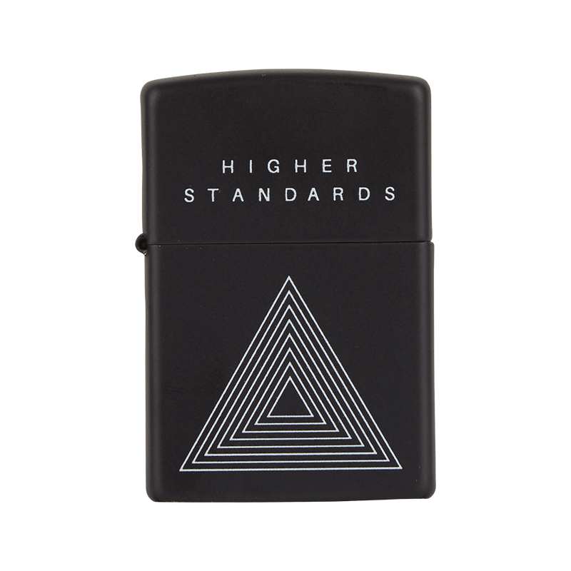 Higher Standards Concentric Triangle Zippo Lighter -