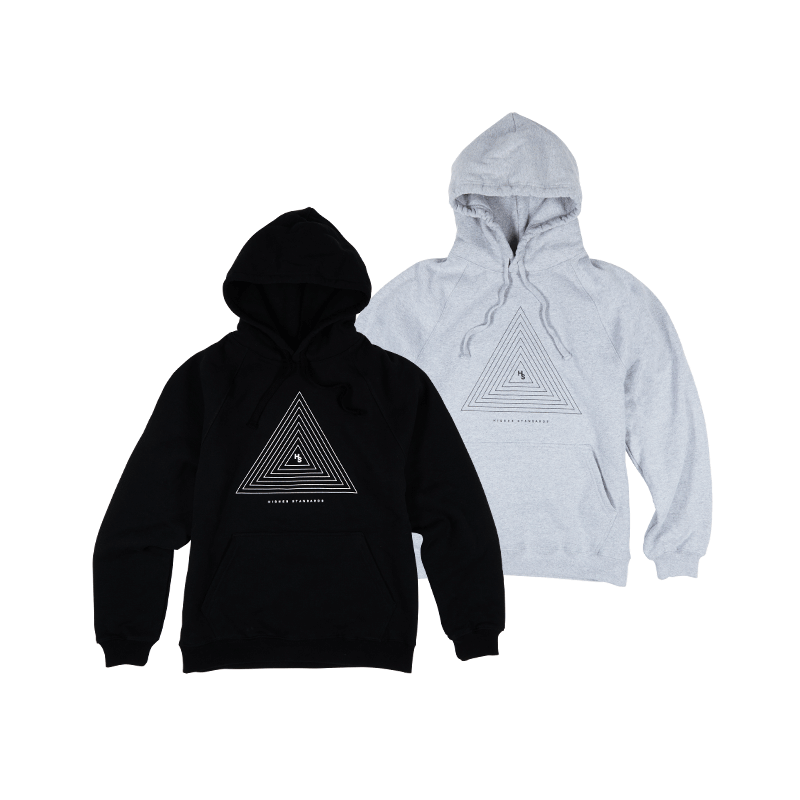 Higher Standards Concentric Triangle Hoodie -