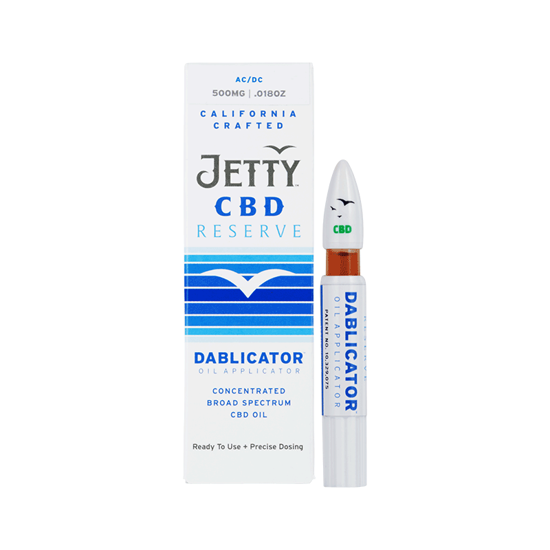Jetty CBD - Reserve - 500MG Dablicator oil applicator