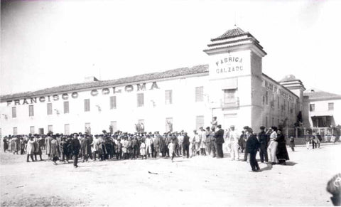 First Shoe Factory Coloma Family in Almansa, Spain