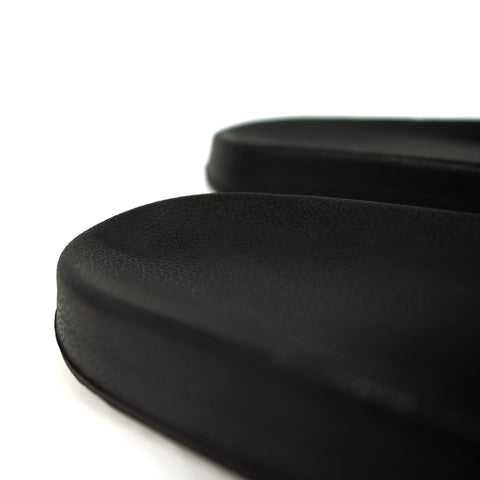 KFG Minimalist Slide black Recessed Heel Cup for stability
