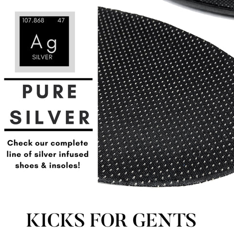 Check Out Our Complete Line of Pure Silver Insoles