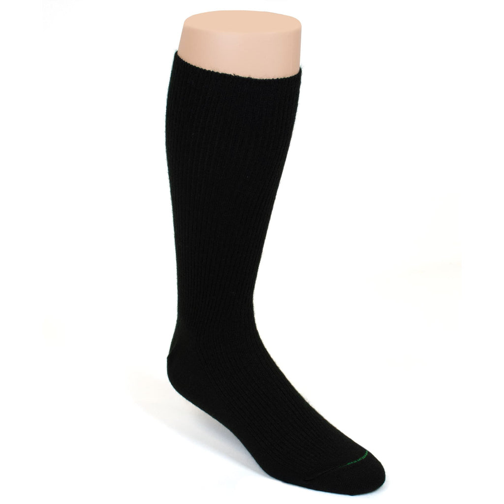 BURLINGTON DRESS ACRYLIC CREW SOCK - BLACK