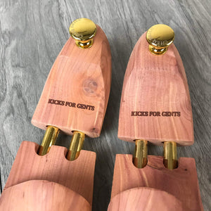 KFG Ultimate Cedar Shoe Trees - Kicks For Gents - Shoe Tree -
