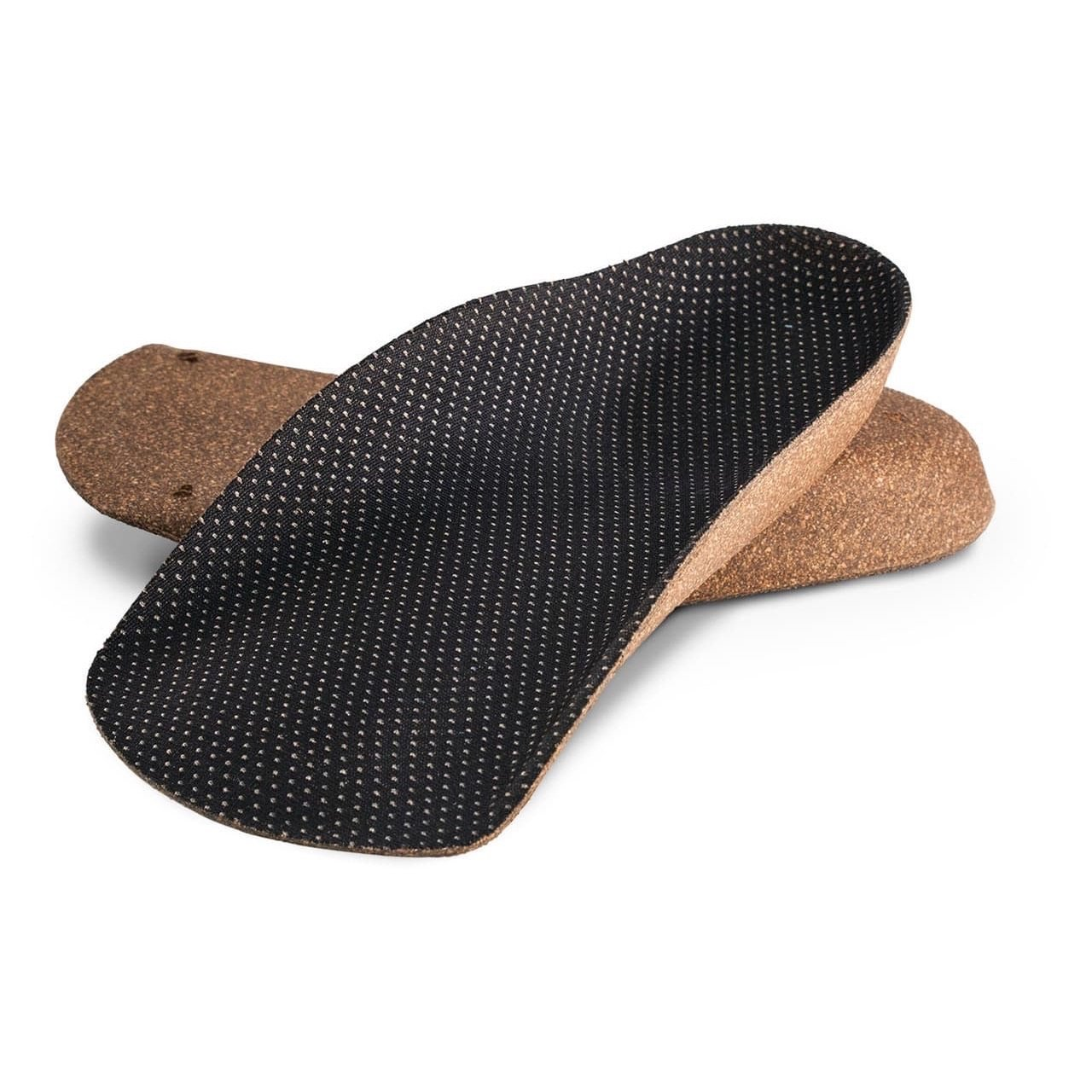 KFG 3/4 Orthotic Insoles - Cork Base - Kicks For Gents - Insole - Insole, MADE IN USA