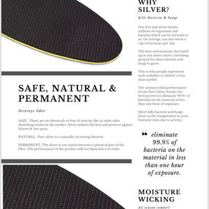 KFG Ultra-Slim Insoles - Kicks For Gents - Insole - Insole, MADE IN USA
