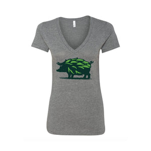Women's Hop Hog V-Neck