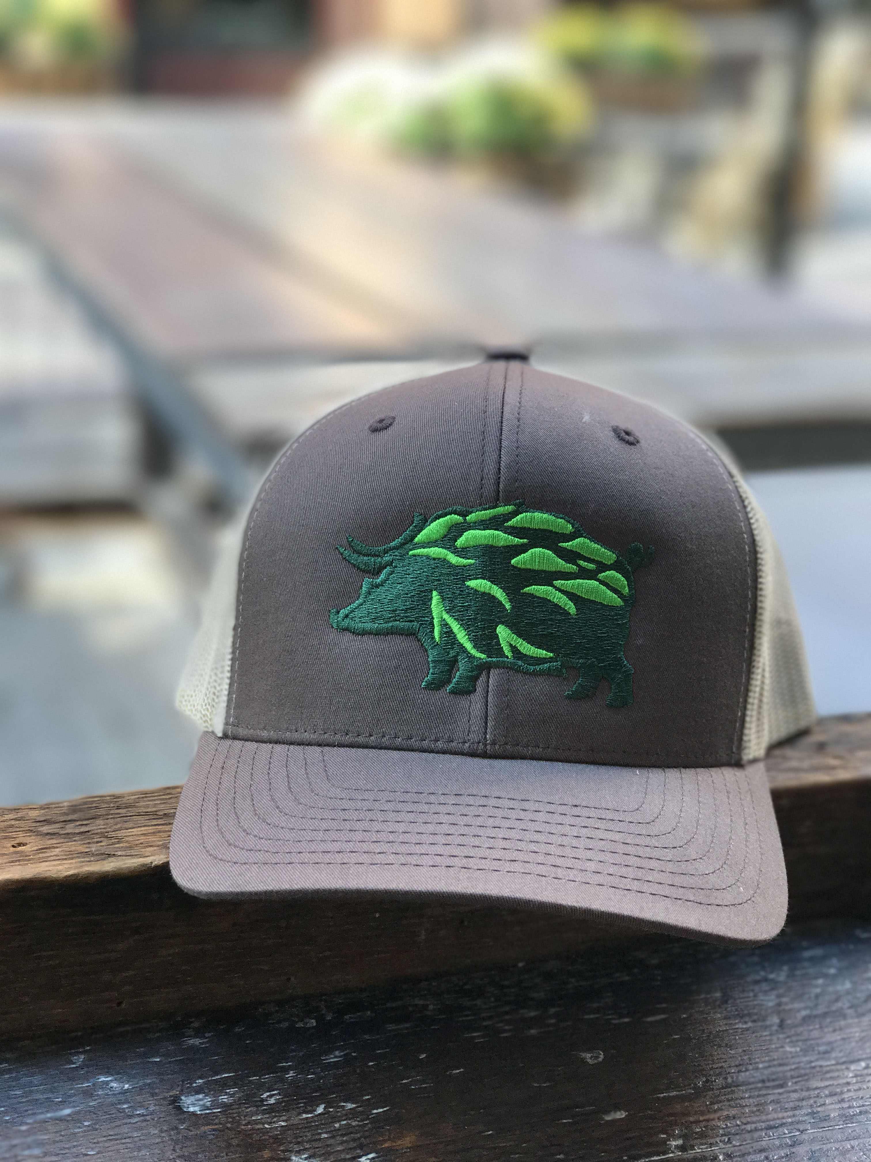Hop Hog Trucker Hat