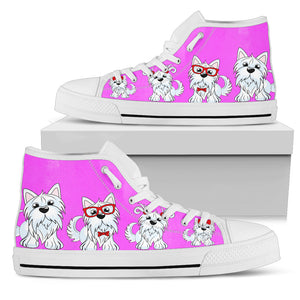 Yorkshire Terriers Women's High Top