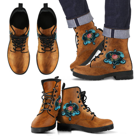 Steampunk/16 - Leather Boots Uomo -
