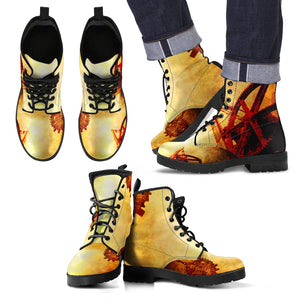 Steampunk/14 - Leather Boots Uomo -