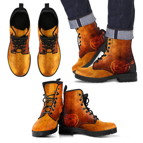 Steampunk/13 - Leather Boots Uomo -