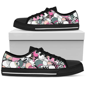 Astratto Chiaro - Low Top Donna -