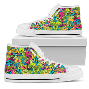 Flora -Sneakers Alte Donna -