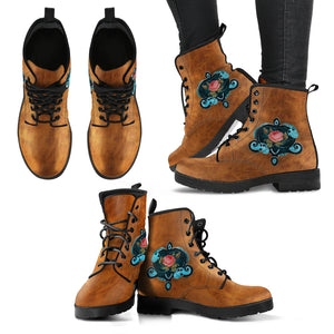 Steampunk /2 - Leather Boots Donna -