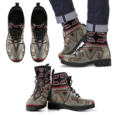 Indiani Sioux -  Leather Boots Uomo -