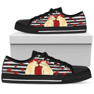 French Bulldog Innamorati - Low Top Donna -