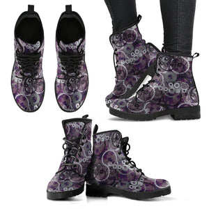 Steampunk /12 - Leather Boots Donna -